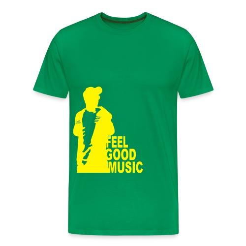 feelgoodmusic - Männer Premium T-Shirt
