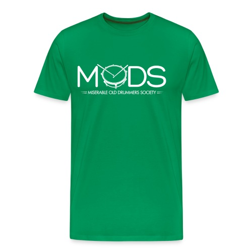 MODS WHITE GIF gif - Men's Premium T-Shirt