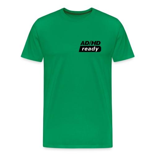 ADHD_READY - Premium T-skjorte for menn