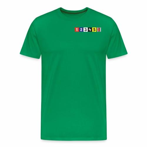 Manttelisarja Racing Coats - Miesten premium t-paita