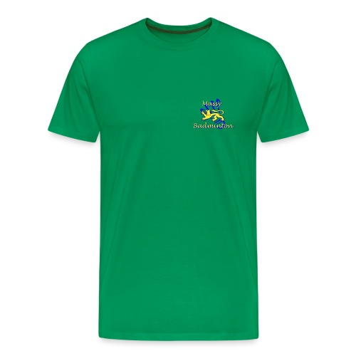 Logo MAS Badminton - T-shirt Premium Homme