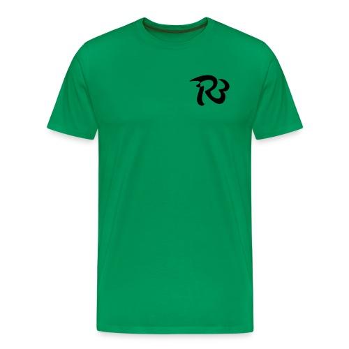 R3 MILITIA LOGO - Men's Premium T-Shirt
