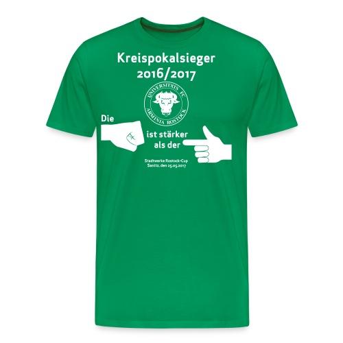 Pokalsieger 16/17 - Männer Premium T-Shirt