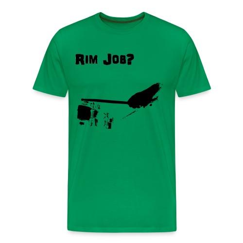Rim Job png - Men's Premium T-Shirt