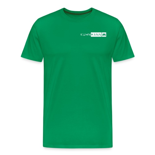KUHNMANN logo PULLI icoGAME - Männer Premium T-Shirt