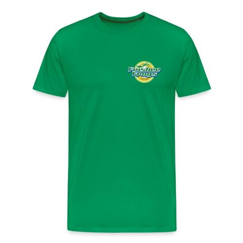 frisbeefrogs tp - Miesten premium t-paita