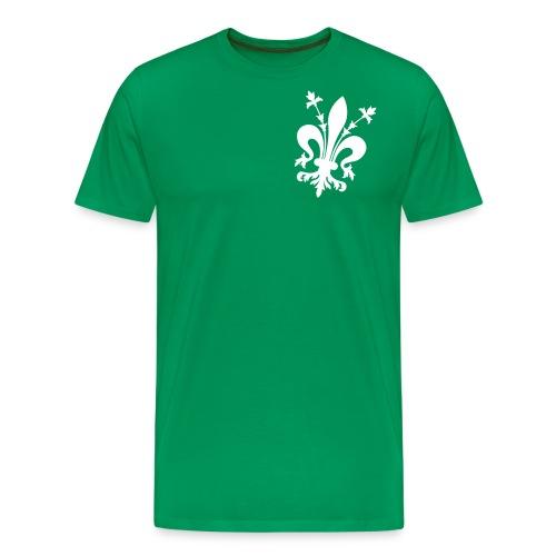 giglio bw - Maglietta Premium da uomo