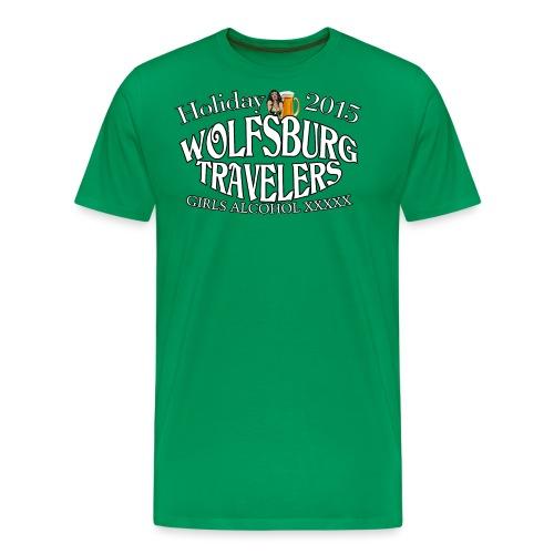 Wolfsburg Holidays - Männer Premium T-Shirt