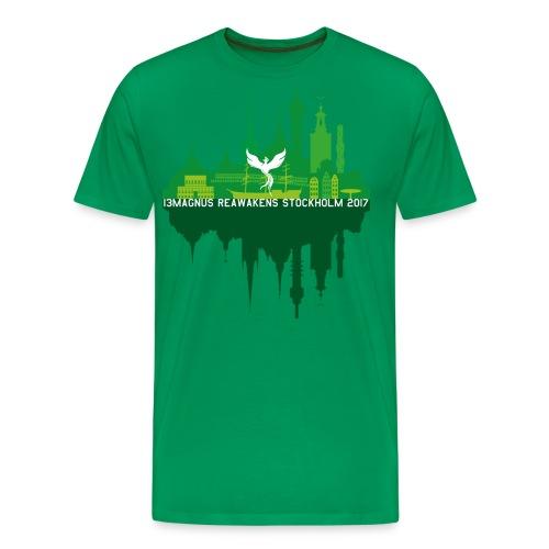 13MAGNUS Stockholm Mirror - Men's Premium T-Shirt