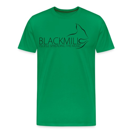 People Spreading the Music black - Men's Premium T-Shirt