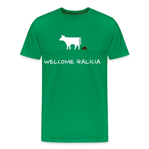 Logo bosta welcome - Camiseta premium hombre