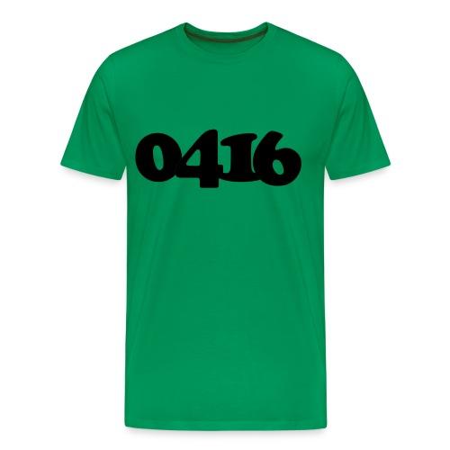 0416 - Mannen Premium T-shirt