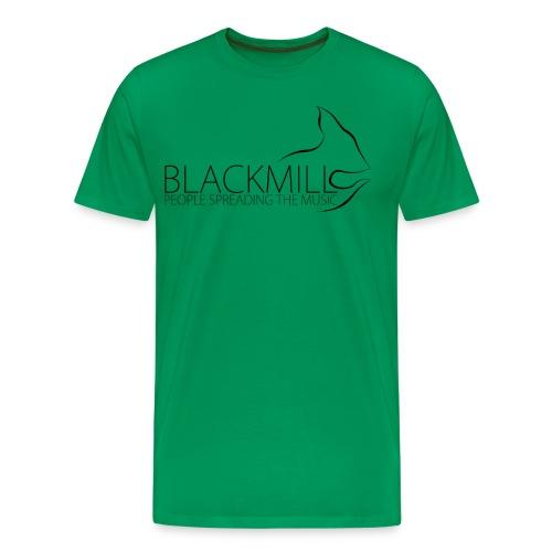 People Spreading the Music black - Men's Premium T-Shirt
