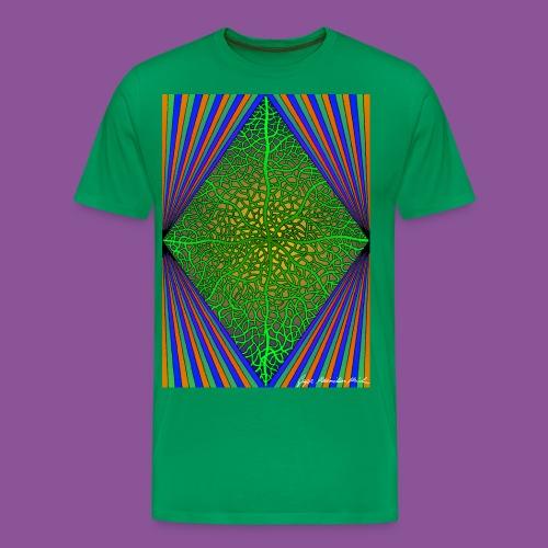 Karo mit Adern 33 - Männer Premium T-Shirt