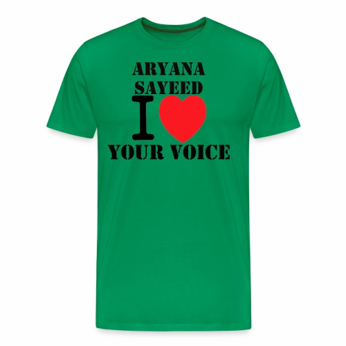 Aryana Sayeed fan - Männer Premium T-Shirt