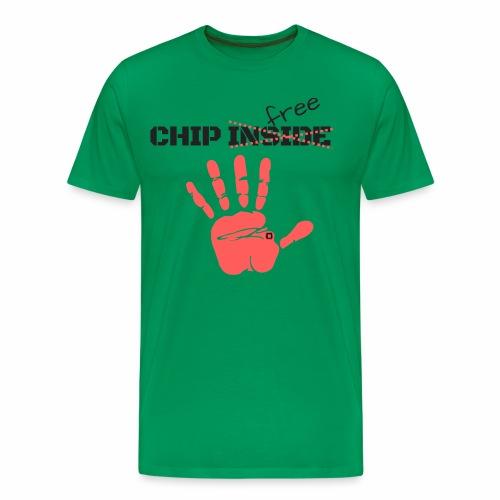 chip inside (free) - Camiseta premium hombre