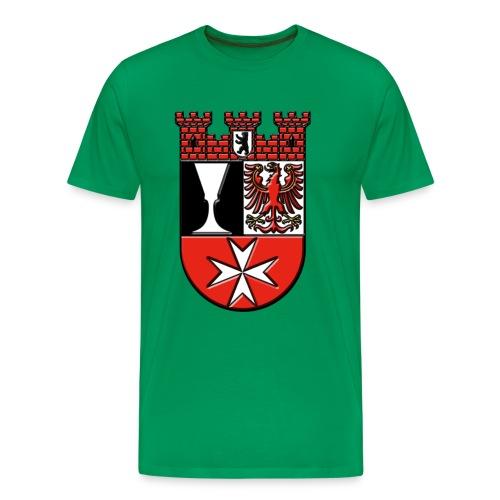 Berlin Bezirk Neukölln Wappen - Männer Premium T-Shirt