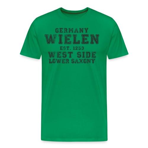 Wie2 png - Männer Premium T-Shirt