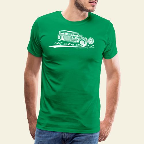 hotrods by rd white - Herre premium T-shirt