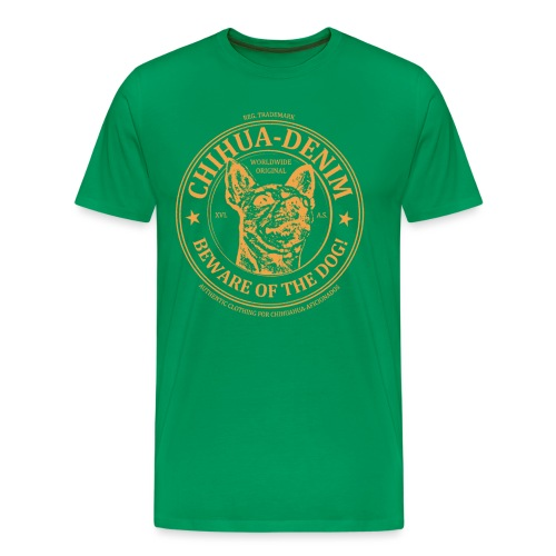 CHIHUA-DENIM Symb Orange - Männer Premium T-Shirt