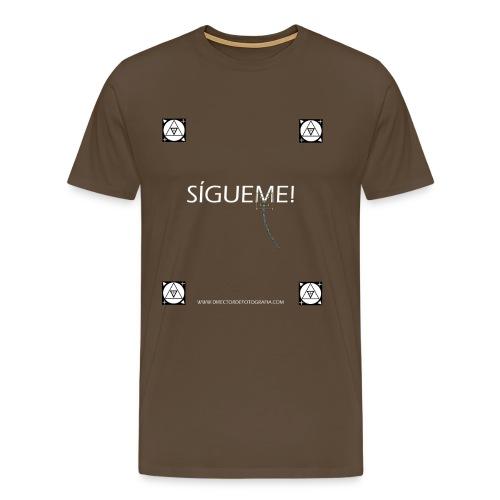 Trackers Sigueme - Camiseta premium hombre