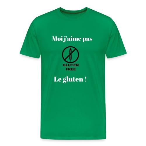 Moi j'ai pas le gluten ! - T-shirt Premium Homme