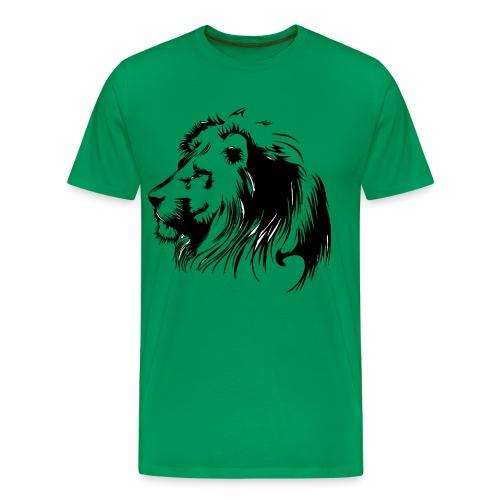 vinilo leon - Camiseta premium hombre