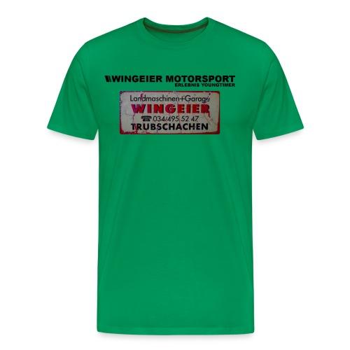 WINGEIER MOTORSPORT RETRO LOGO 3 - Männer Premium T-Shirt