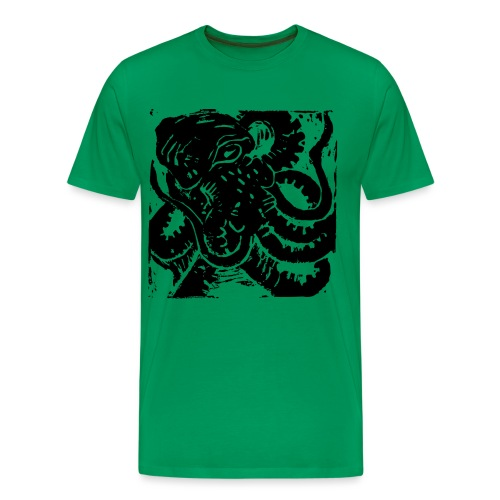 Museum Collection Octopus - Men's Premium T-Shirt