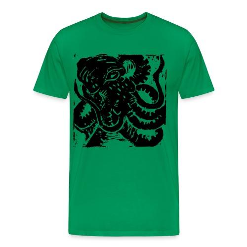 Museum Collection Octopus - Men's Premium T-Shirt