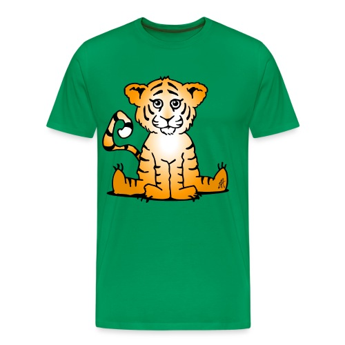 Tiger cub - Men's Premium T-Shirt