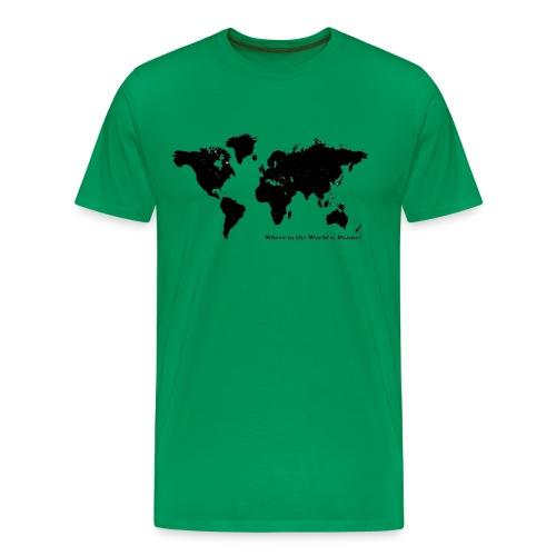 osama - Premium T-skjorte for menn