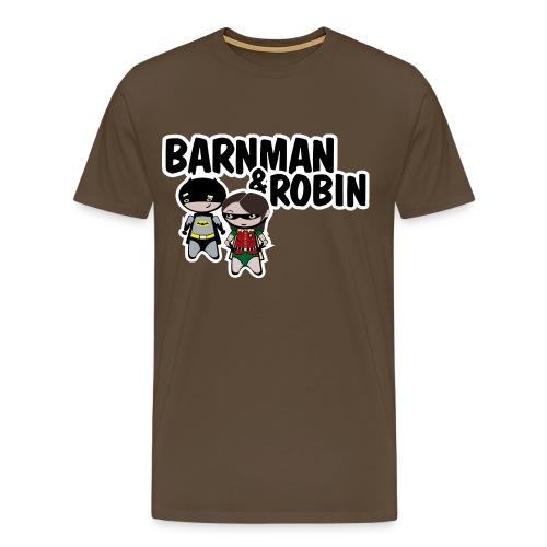 barnman and robin - Camiseta premium hombre