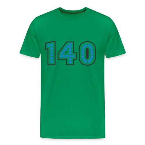 140 blue/grey - Men's Premium T-Shirt