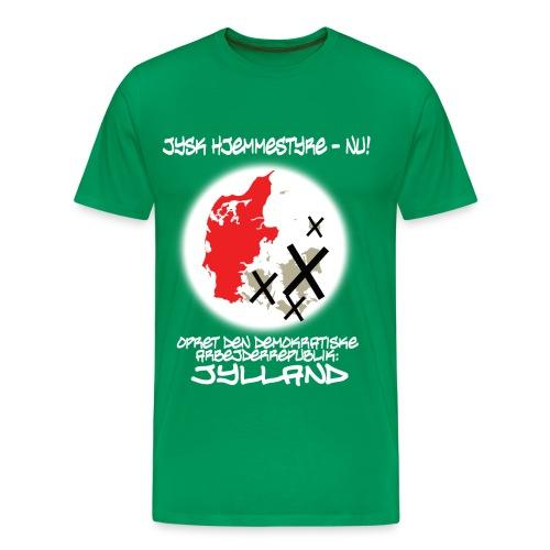 jyskhjemmestyre - Herre premium T-shirt