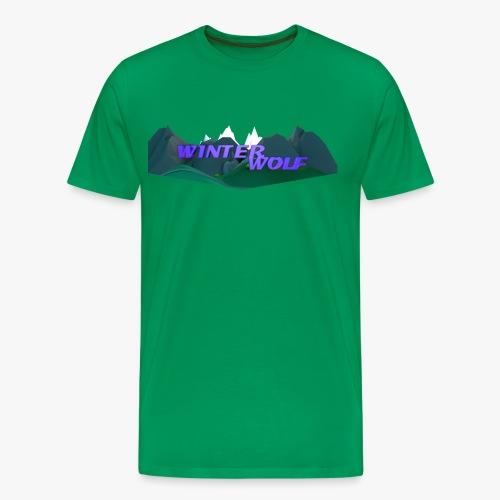 WINTERWOLF Season IV logo - Mannen Premium T-shirt
