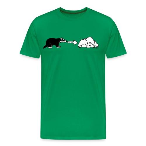 Rock Badger - Men's Premium T-Shirt