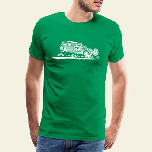hotrods by rd white - Herre premium T-shirt