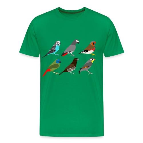 6xvogel - Mannen Premium T-shirt