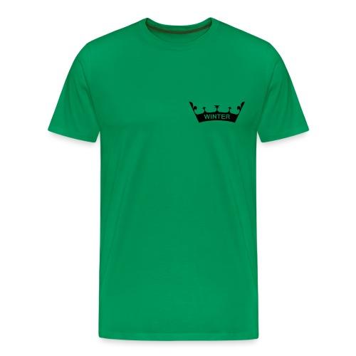 winter_crown - Männer Premium T-Shirt