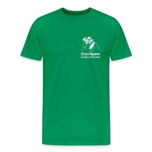 LOGO EBA POITRINE - T-shirt Premium Homme