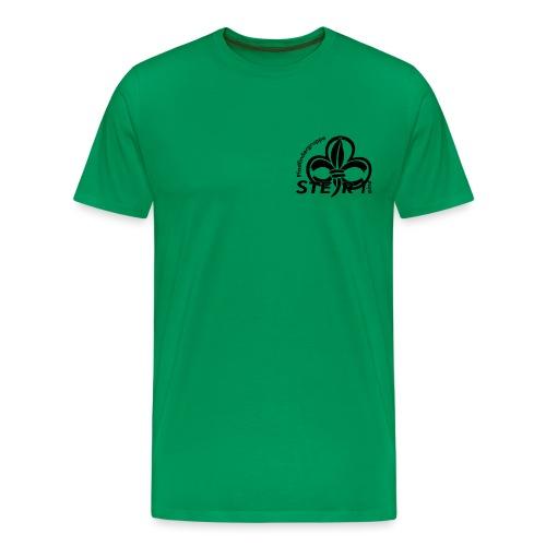 pfadi profil frei schwarz - Männer Premium T-Shirt
