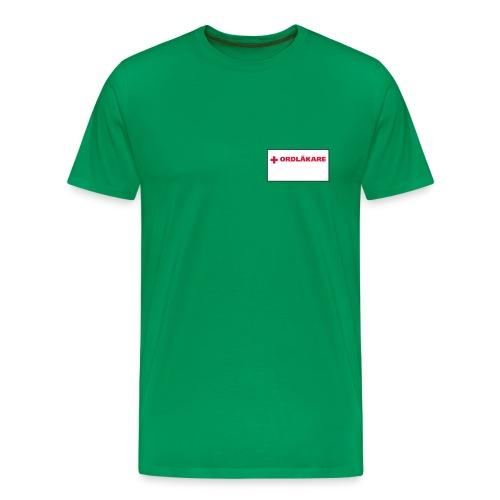 Ordläkare - Premium-T-shirt herr