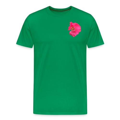Mohnblume solo - Männer Premium T-Shirt