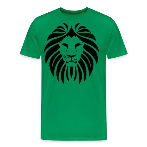 Lion T Shirt Design png - Men's Premium T-Shirt