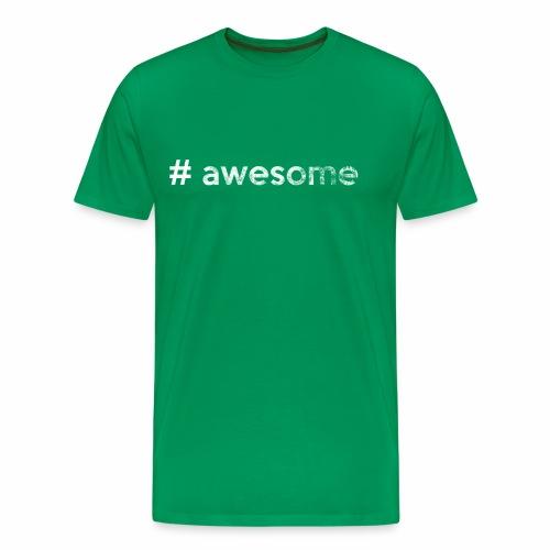 # awesome   genial - Männer Premium T-Shirt