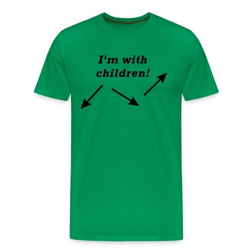 I'm with children! - Männer Premium T-Shirt