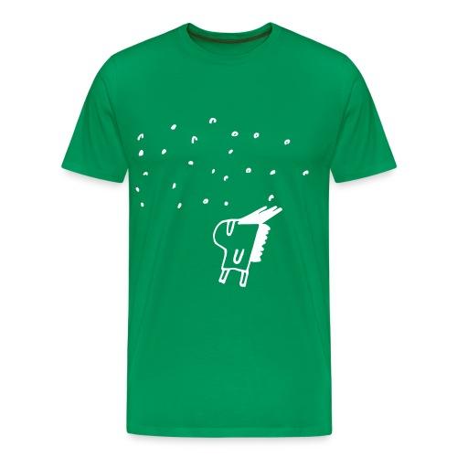 Dude It's Snowing! Or is it Rain? - Premium-T-shirt herr