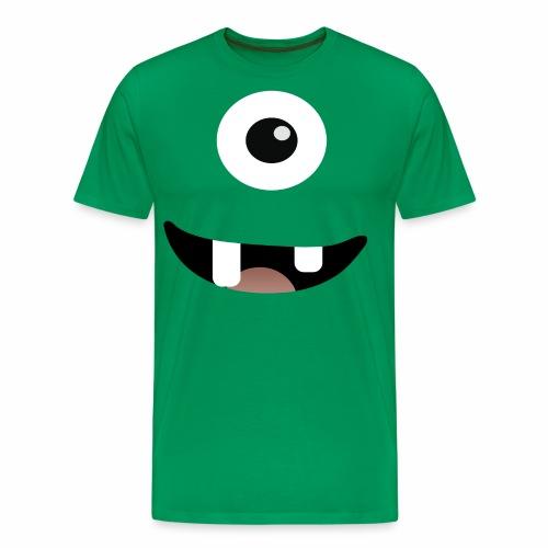 Monsteri - Hymy, T-paita - Miesten premium t-paita
