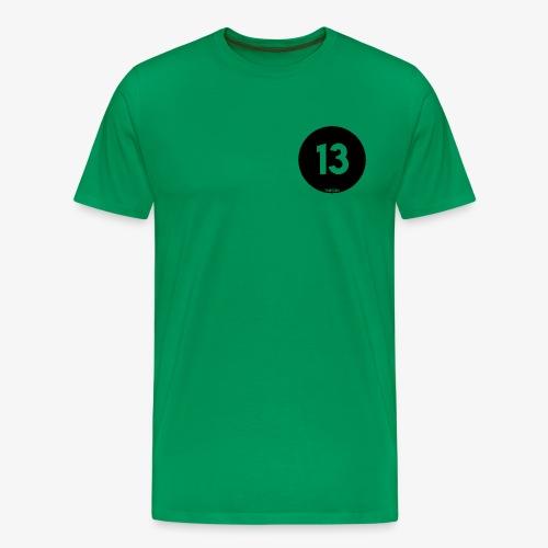Thirteen Logo - Mannen Premium T-shirt